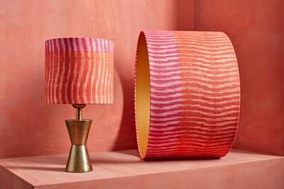 Lampshade pink tiger
