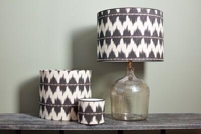 Lampshade black & white