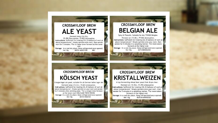 CML Beer Yeast (100g Packs)