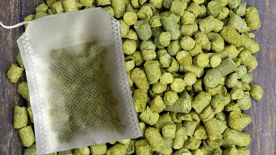 25g Hop Pellet Tea Bags