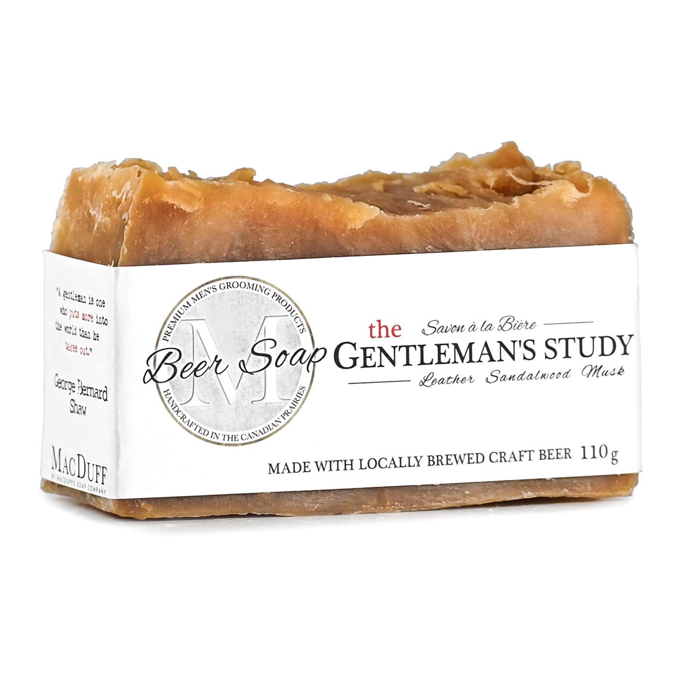 Gentleman's Study Beer Soap