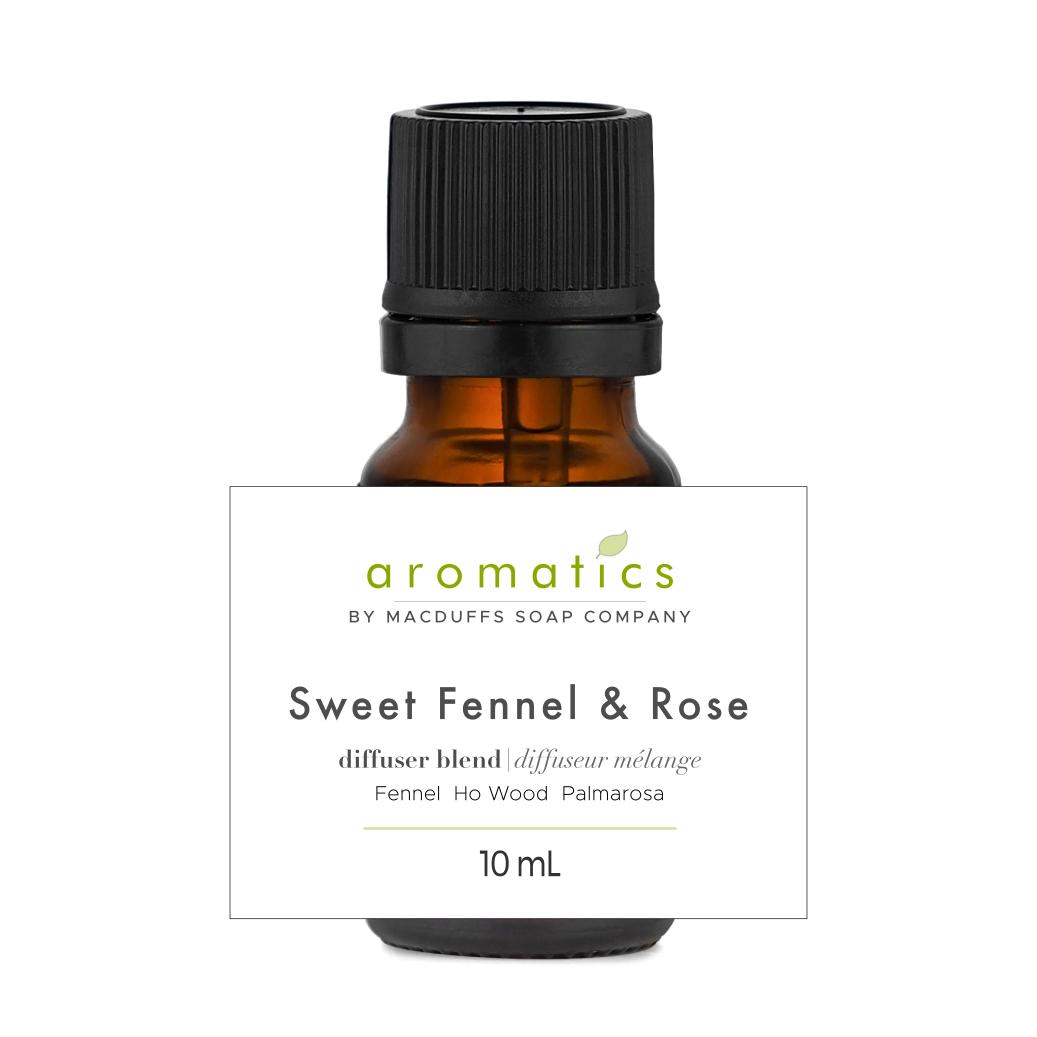 Sweet Fennel & Rose Diffuser Blend