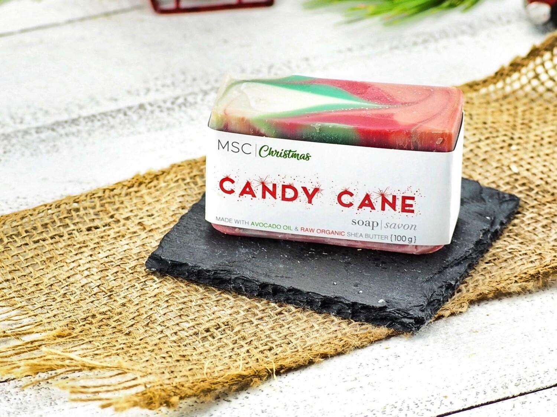 Candy Cane Bar Soap