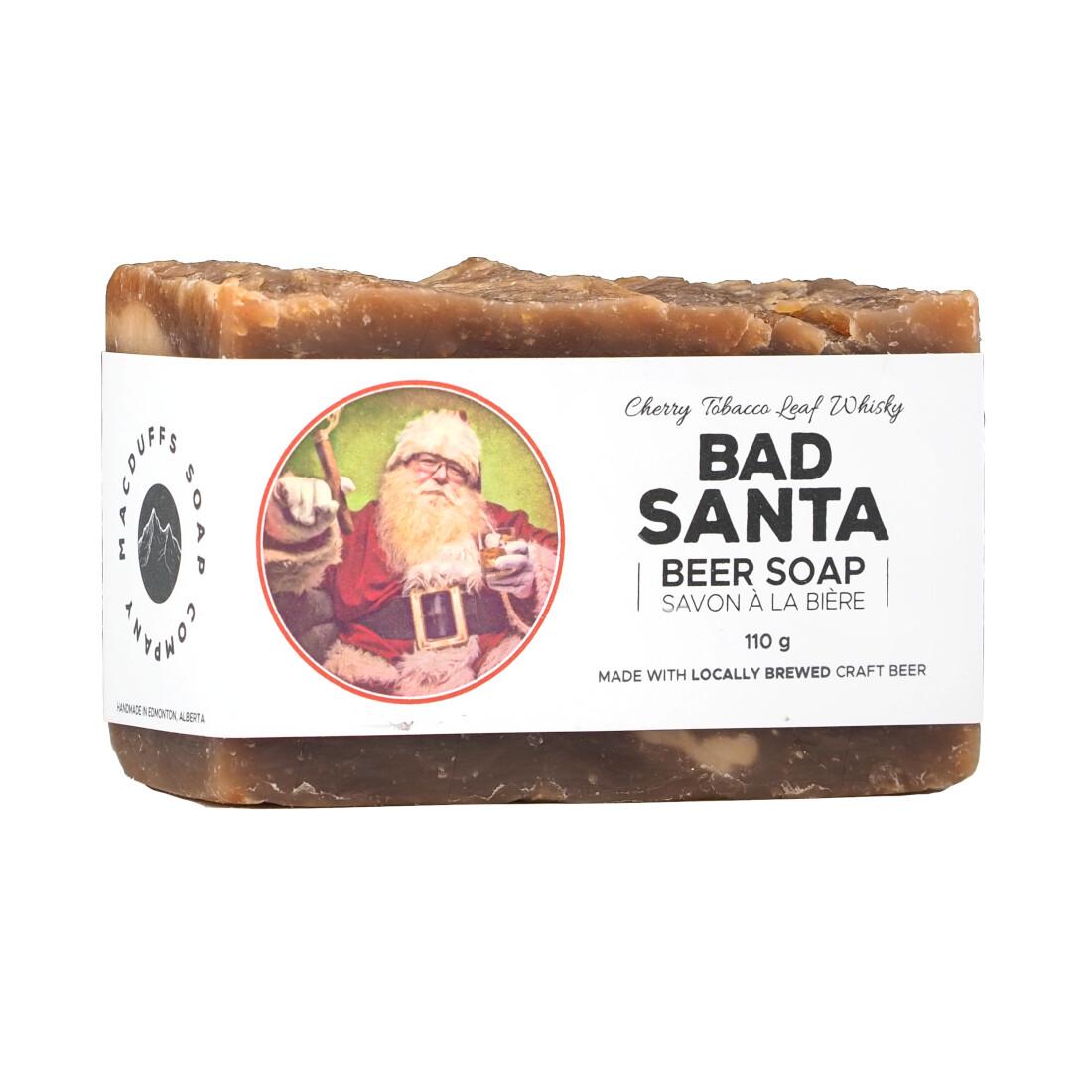 BAD SANTA BEER SOAP