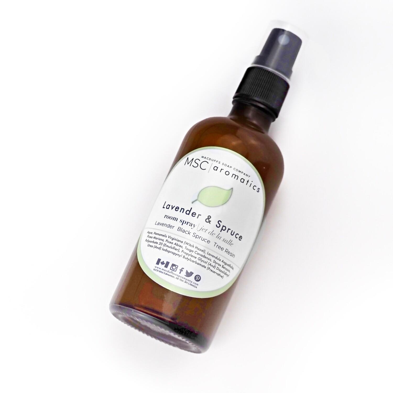 Lavender & Spruce Room Spray