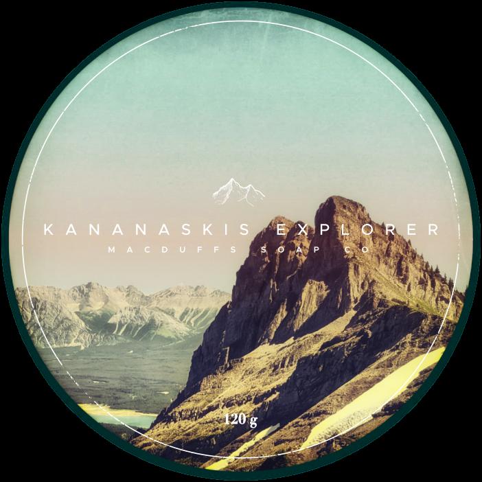 KANANASKIS EXPLORER SHAVE SOAP