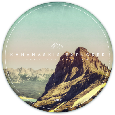 KANANASKIS EXPLORER SHAVE SOAP