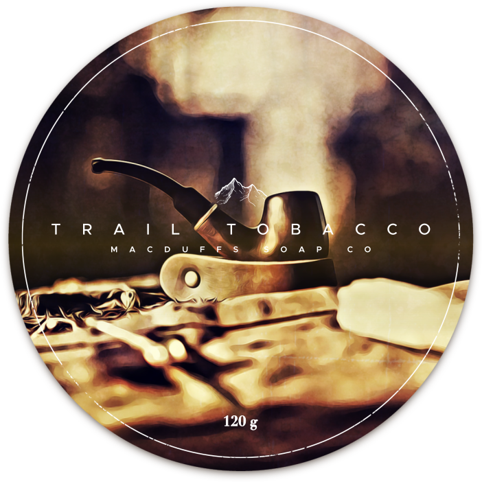 TRAIL TOBACCO SHAVE SOAP (IN STOCK LATE SEPT)