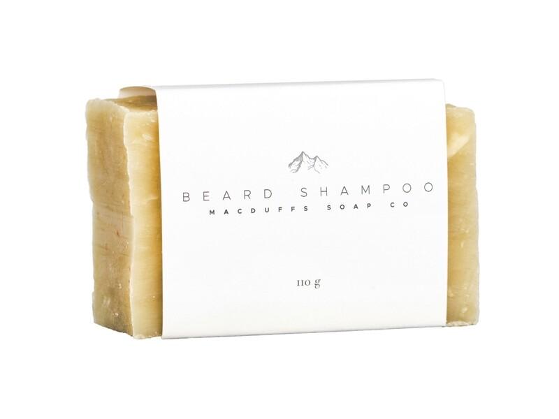 BEARD SHAMPOO BEER SOAP