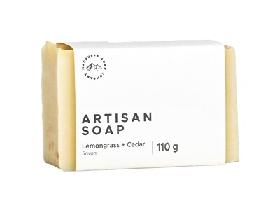 Lemongrass & Cedar Bar Soap
