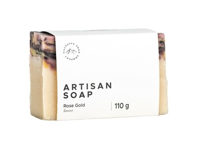 Rose Gold Artisan Bar Soap