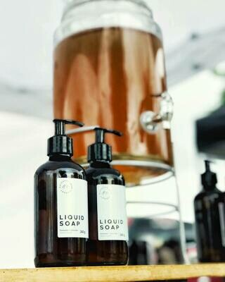 Lavender + Spruce Liquid Soap