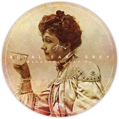 ROYAL EARL GREY SHAVE SOAP