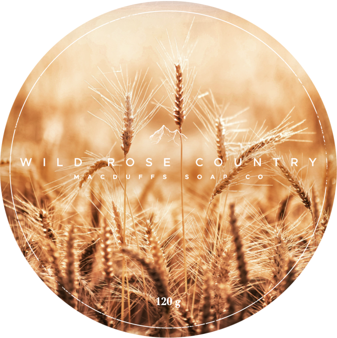 WILDROSE COUNTRY SHAVE SOAP