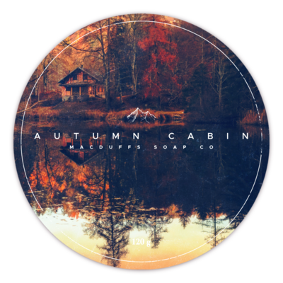 AUTUMN CABIN SHAVE SOAP (BACK IN STOCK MID OCT)