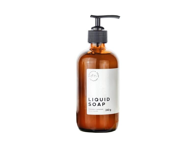 Rosewater + Lemonade Liquid Soap (Summer Seasonal)