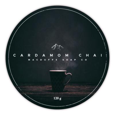 CARDAMOM CHAI SHAVE SOAP (EO SCENT)