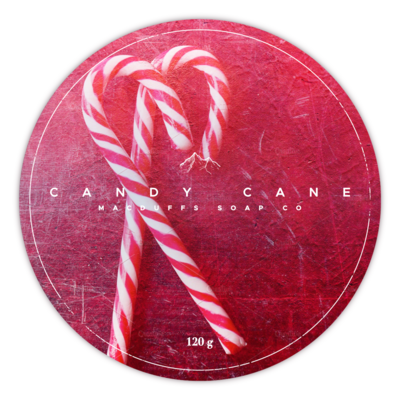 CANDY CANE SHAVE SOAP (NOVEMBER 12)