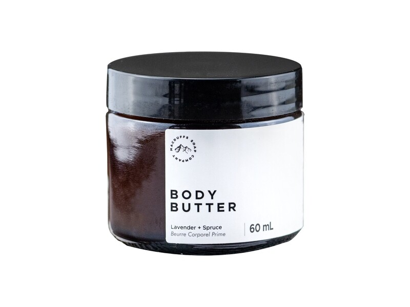 Lavender + Spruce Body Butter