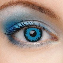 DARK BLUE ELF HALLOWEEN CONTACTS