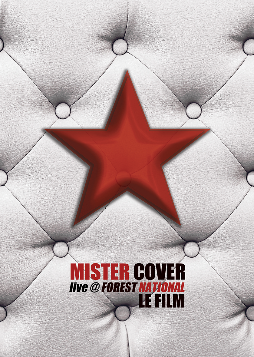 DVD/BLURAY Mister Cover Live @ Forest National