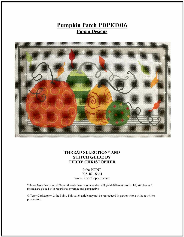 Pippin Designs, Pumpkin Patch PET016