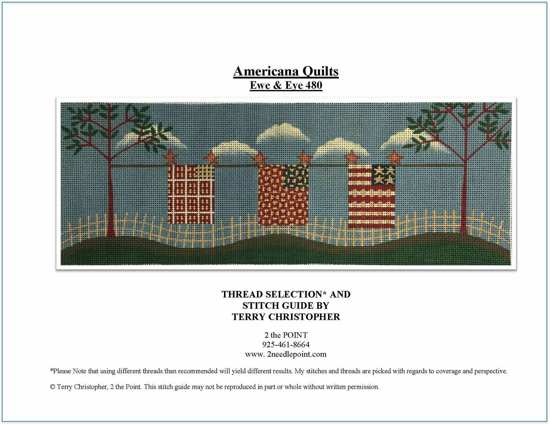Ewe & Eye, Americana Quilts EWE480