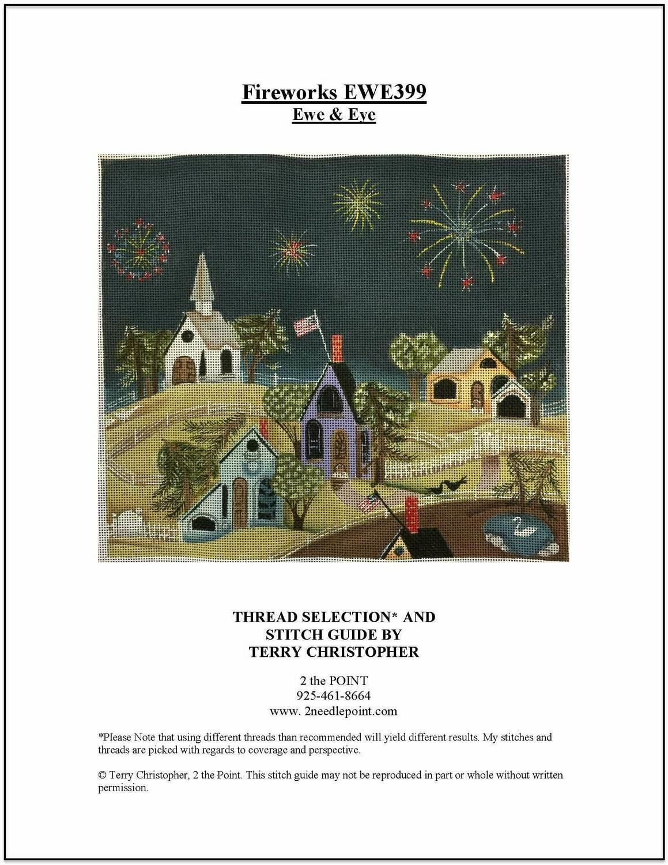 Ewe & Eye, Fireworks Over Town EWE399