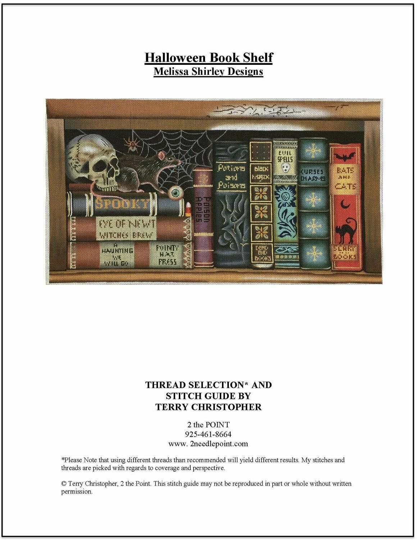 Melissa Shirley, Halloween Bookshelf MS2057