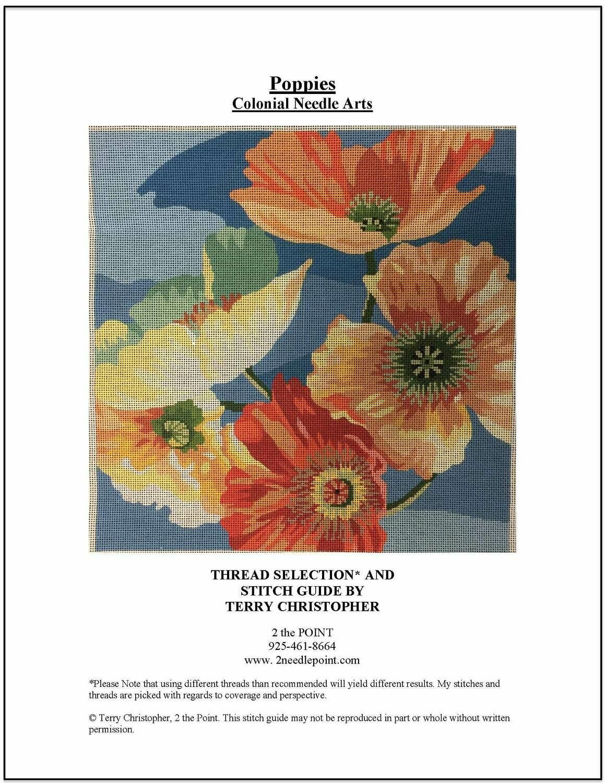 Lee's Needle Art, Poppies LNAP1127