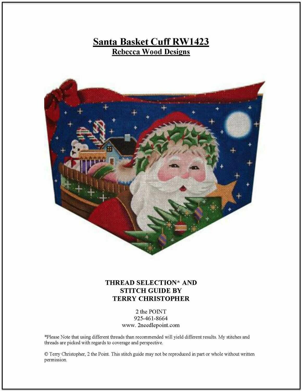 Rebecca Wood, Santa with Sack Cuff RW1423
