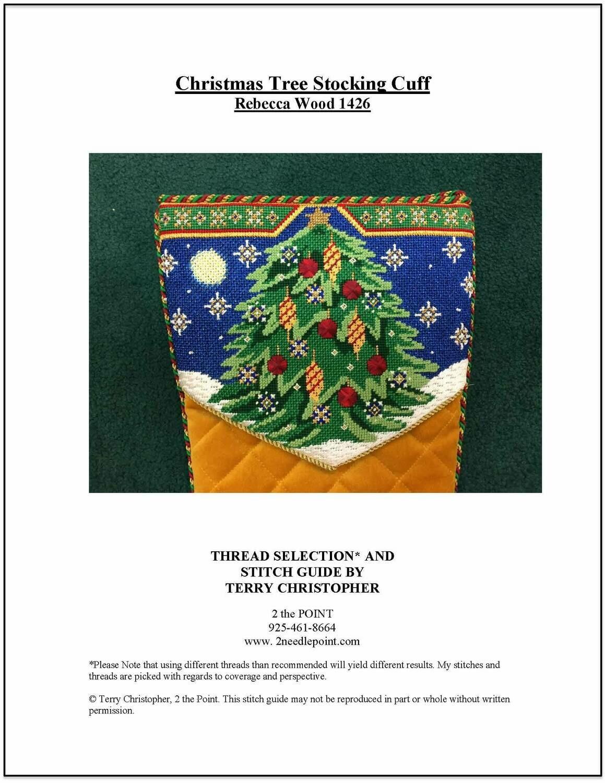 Rebecca Wood, Christmas Tree Cuff RW1426