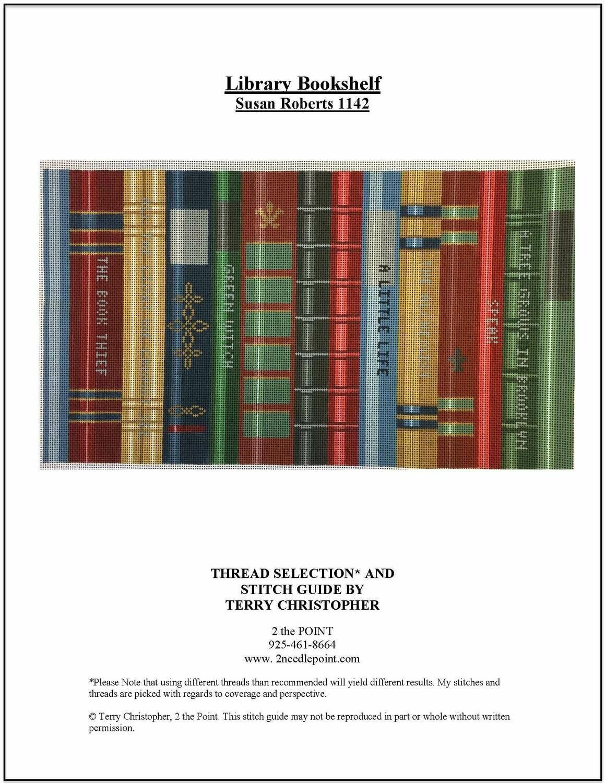 Susan Roberts, Library Bookshelf SRN1142
