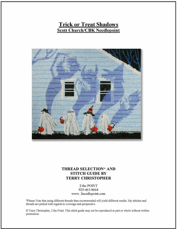 Scott Church, Trick or Treat Shadows CBKSCPL39-18