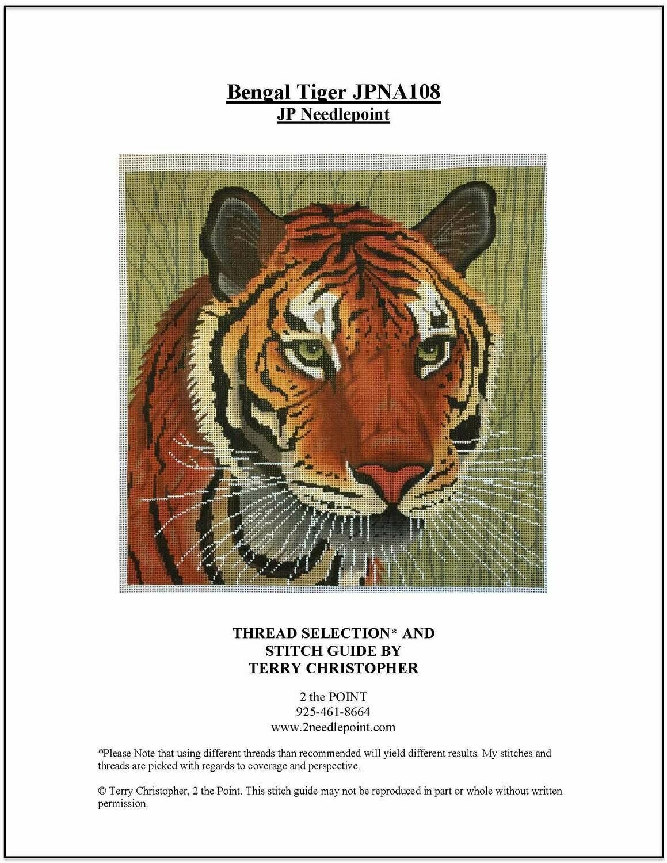 JP Needlepoint, Bengal Tiger JPNA108