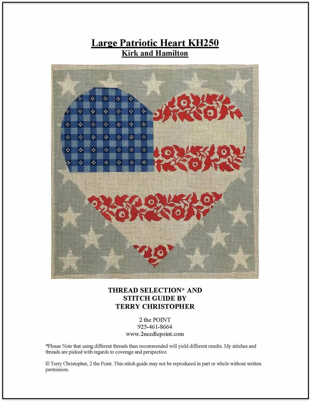 Kirk & Hamilton, Patriotic Heart KH250