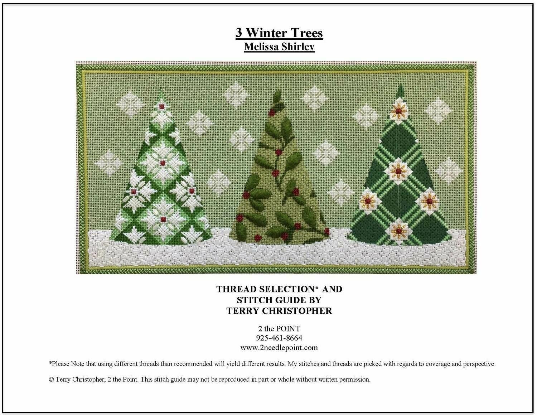 Melissa Shirley, Three Winter Trees