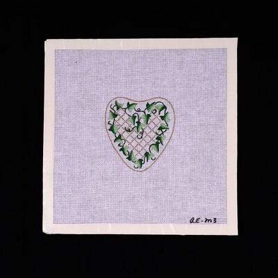 Ann Brinkley, Heart Shaped Vines AE-M3