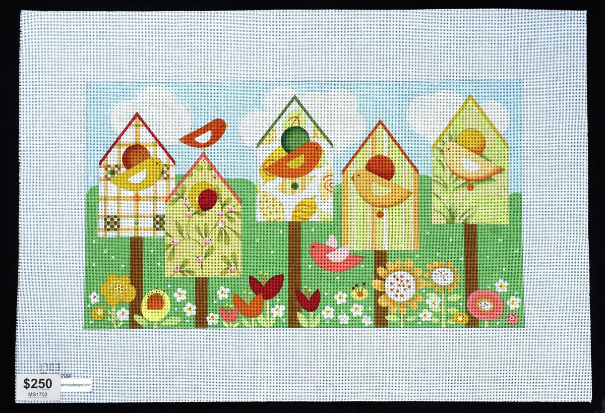 Melissa Shirley, Birdhouses MS1703