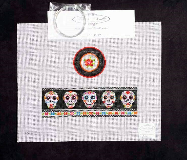 Funda Sculley, Day of the Dead trinket box, FSR39