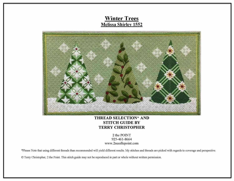 Melissa Shirley, Three Winter Trees MS1552