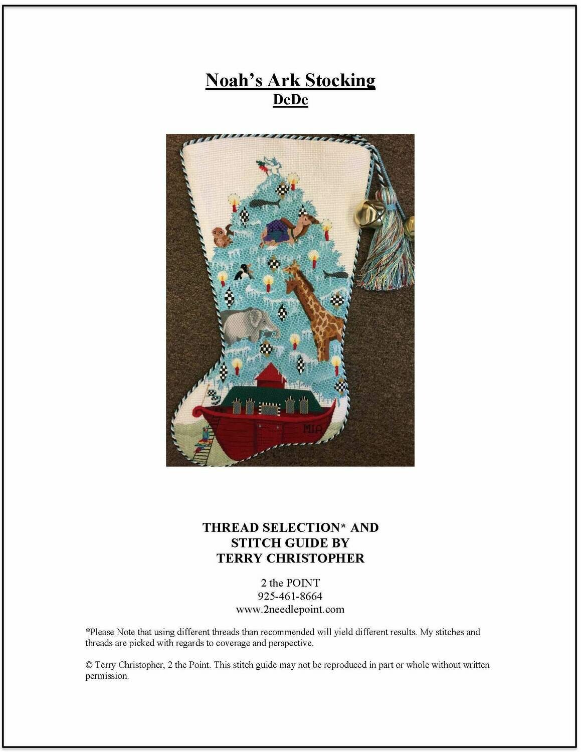 Dede, Noahs Ark Stocking