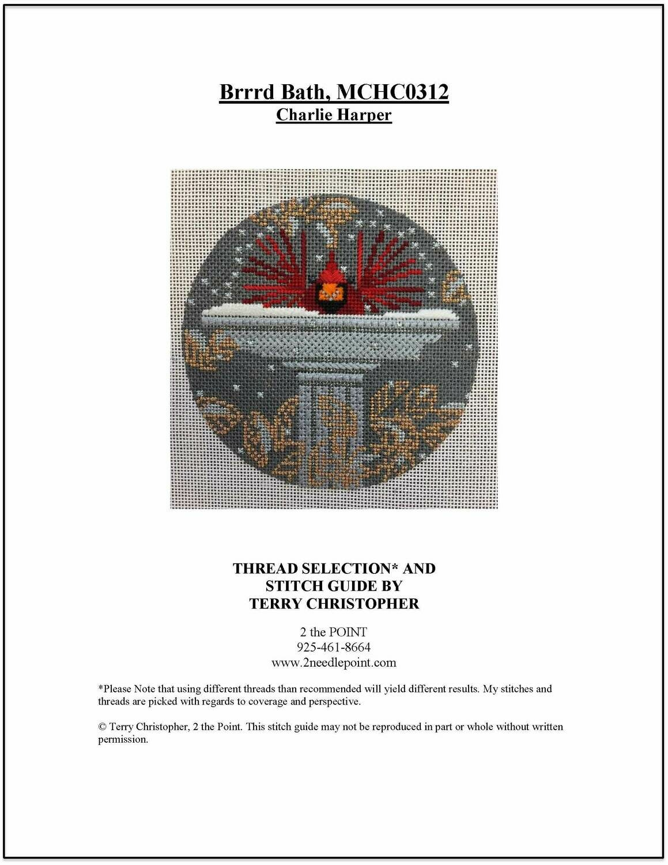 Charlie Harper, Birrrrrd Bath Ornament MCHC-0312