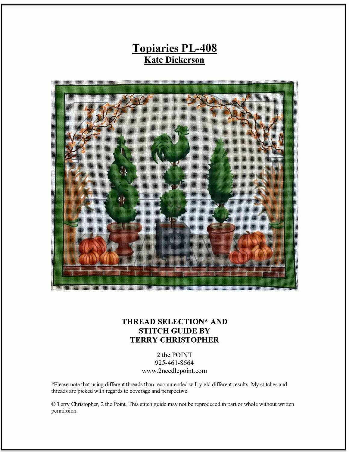 Kate Dickerson, Topiaries, KDPL-408