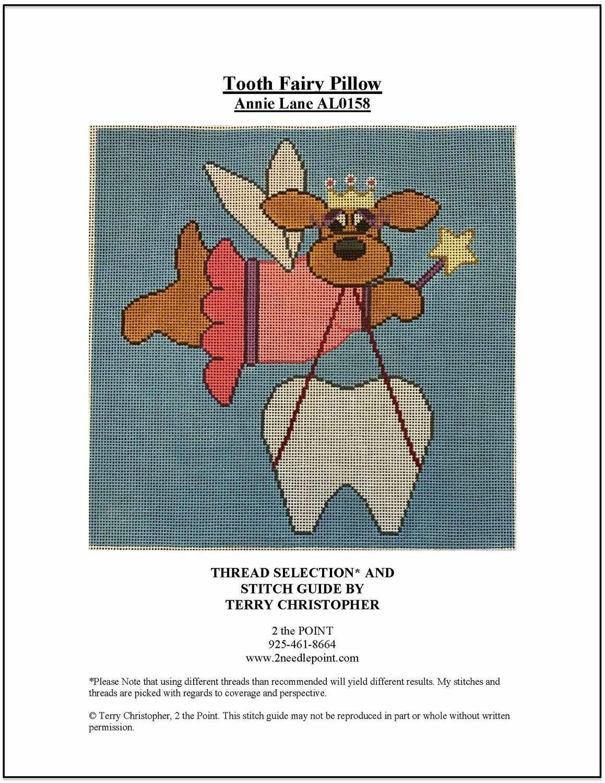 Annie Lane, Tooth Fairy Pillow AL0518