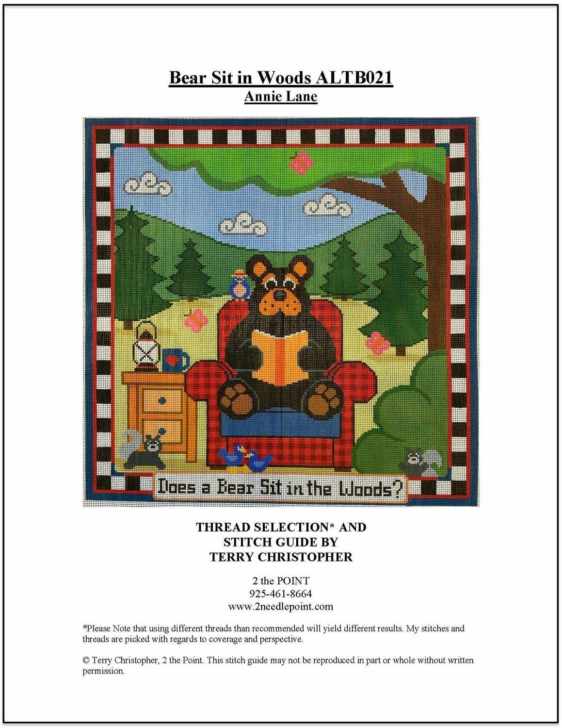 Annie Lane, Bear Sits in the Woods ALTB021
