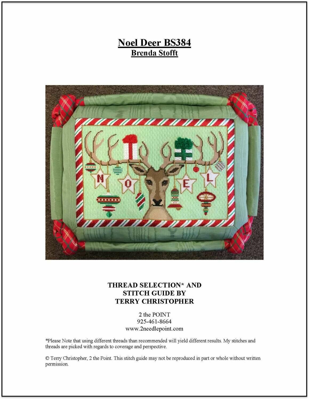 Brenda Stoftt, Noel Deer in Red/Green BS384