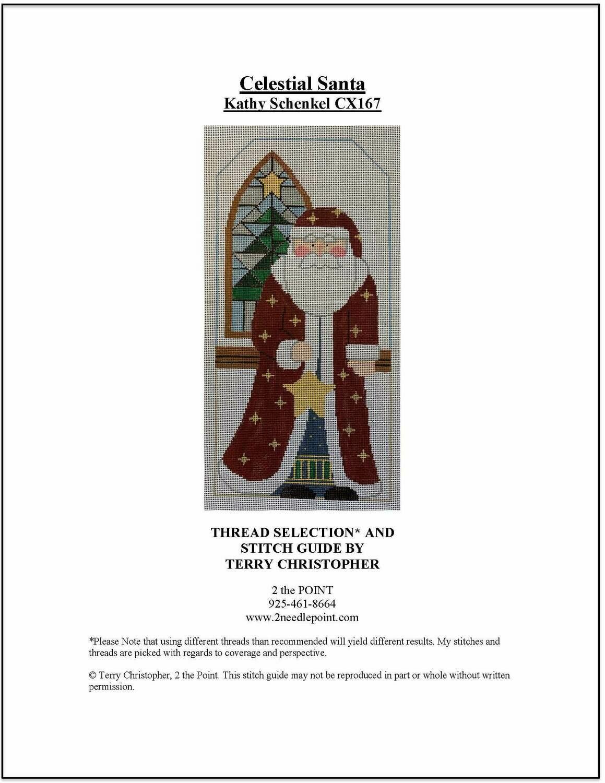 Kathy Schenkel, Celestial Santa KSDCX167