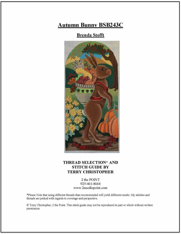 Brenda Stofft, Autumn Bunny BSB243C
