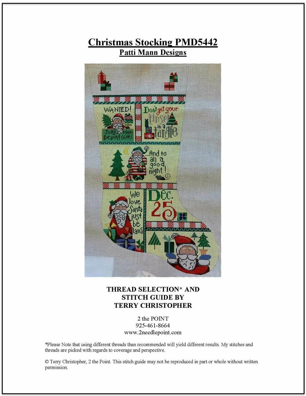 Patti Mann, Christmas Stocking PMD5442